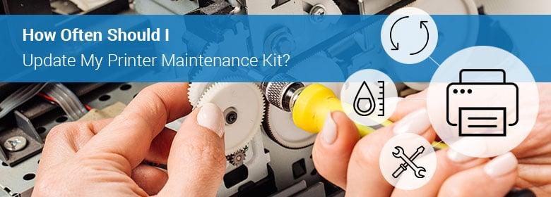 Printer Maintenance Kit Updates   ASE Direct